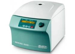 Лабораторні центрифуги MIKRO 200, центрифуга малооб'ємна, без ротору, класична