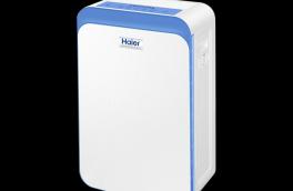 The Haier air purifier