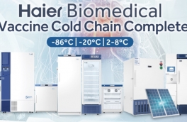 Complete cold chain solution from Haier to ensure that COVID-19 vaccines